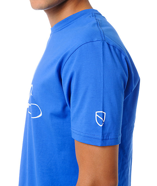Eswic Script Royal Blue T-Shirt
