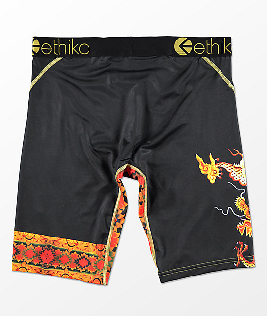 Ethika Eye Know Black Boxer Briefs