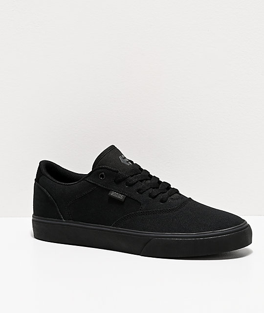 Etnies Blitz All Black Skate Shoes
