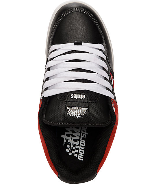 Etnies Chad Reed Charter Black & Red Shoes