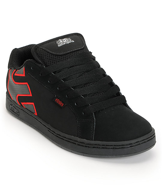 Etnies Chad Reed Fader Black & Red Shoes