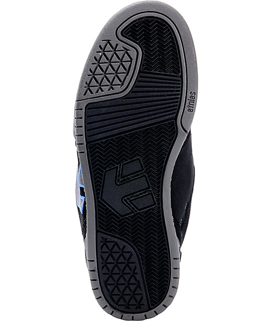 Etnies Charter Black & Blue Skate Shoes