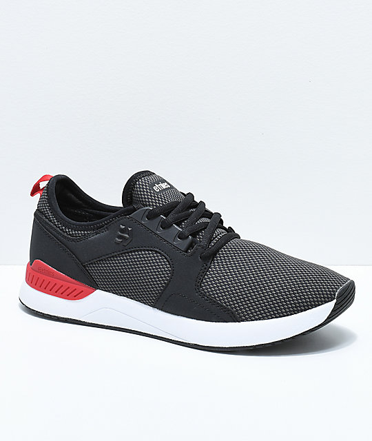 Etnies Cyprus SC Sheckler Black, Red & White Shoes