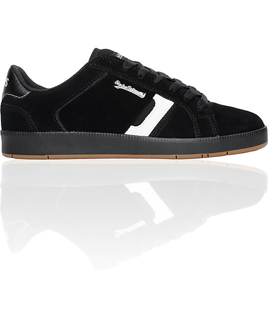 Etnies Devine Calloway Black, White & Gum Shoes