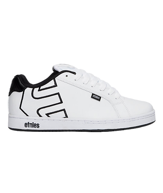 Etnies Fader White & Print Shoes