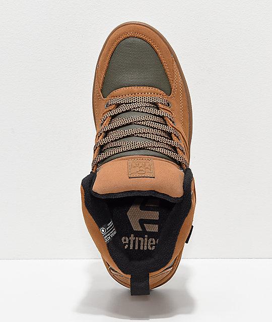 HTW zapatos y Harrison en Etnies goma marrón Hw5SE7zq