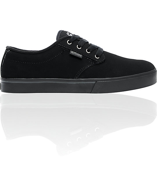 Etnies Jameson 2 Black & Dark Grey Skate Shoes