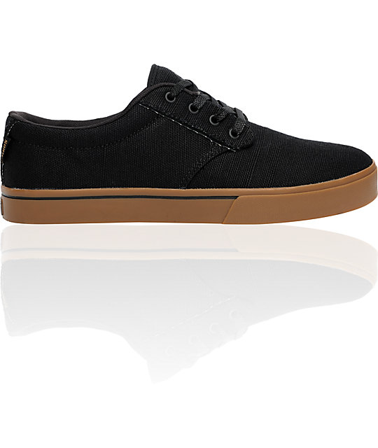 Etnies Jameson 2 ECO Black & Gum Shoes