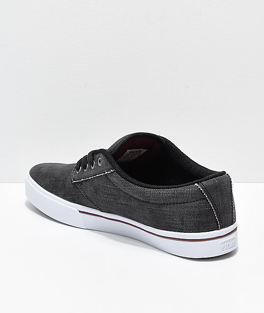 Etnies Jameson 2 Eco Black Dirty Wash Skate Shoes