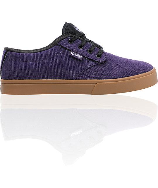 Etnies Jameson 2 Eco Purple & Gum Skate Shoes ...
