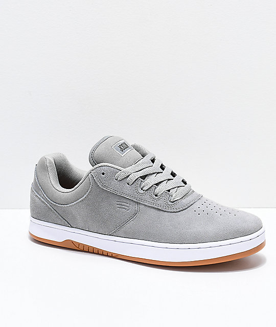 Etnies Joslin Grey, White & Gum Skate Shoes