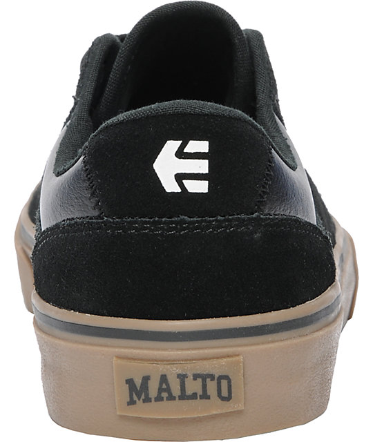 Etnies Malto LS Black & Gum Shoes
