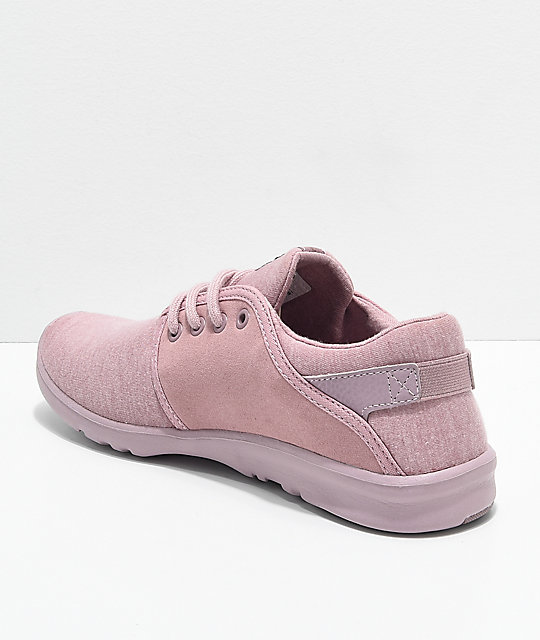 Etnies Scout Mauve Peach Jersey Shoes