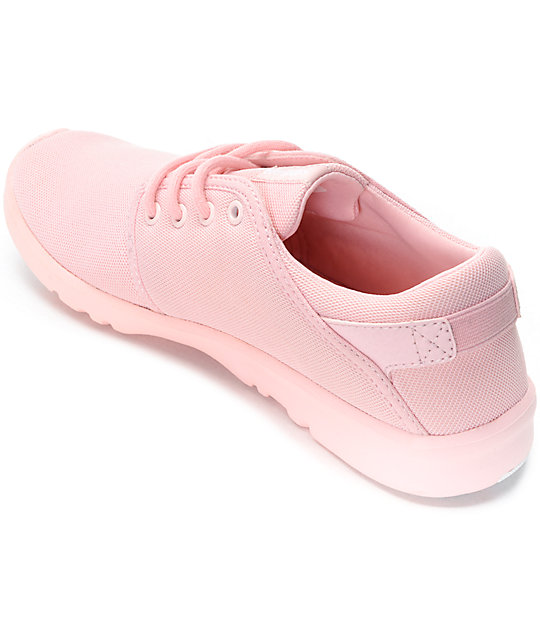 Etnies Scout Mono Pink Womens Shoes