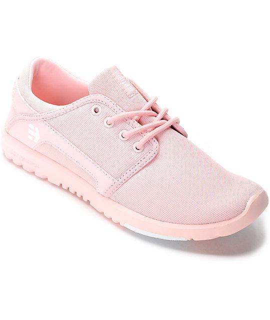 Etnies Scout Mono Pink Womens Shoes ...