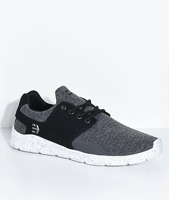Etnies Scout Shoe Black Grey Black L36h8698