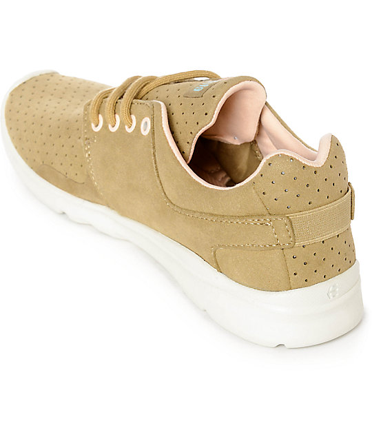 Etnies Scout XT Tan Micro Perforated Shoes