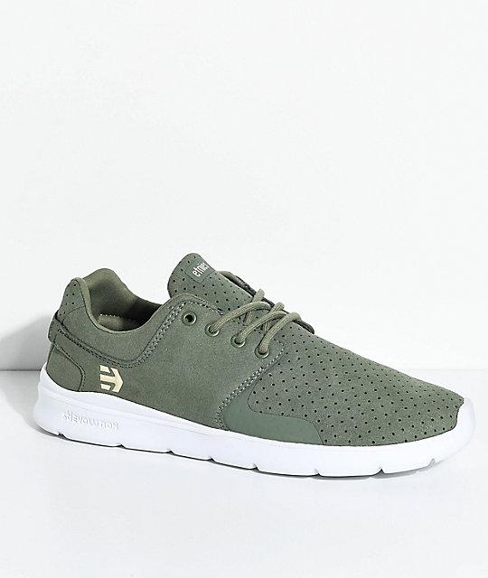 déstockage de dédouanement original Etnies Chaussures Vertes Pour Les Hommes shopping en ligne Livraison gratuite Nice de gros YLWRLIVoU