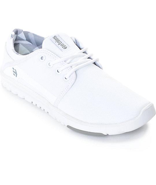 fda75ea18 Etnies Scout zapatos blancos (mujer) ...