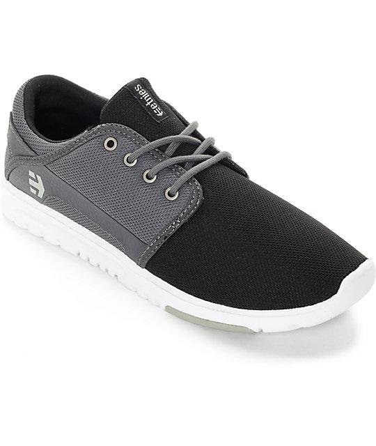 Zapatos negros Etnies para mujer XaI88xNG