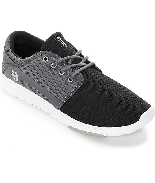 Zapatos negros Etnies para mujer