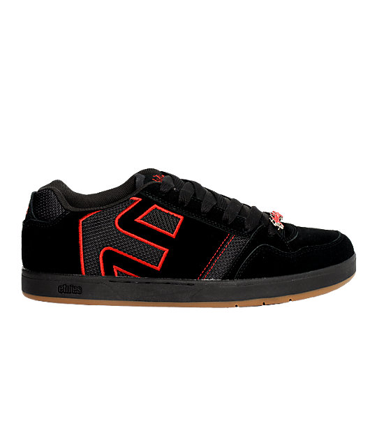 Etnies Twitch 2 Black & Red Shoes