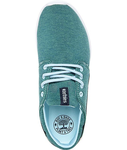 Etnies Women's Scout Green Heather Shoes