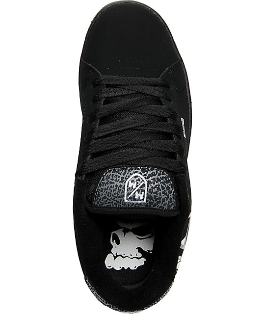 Etnies x Metal Mulisha Fader Black & Grey Shoes