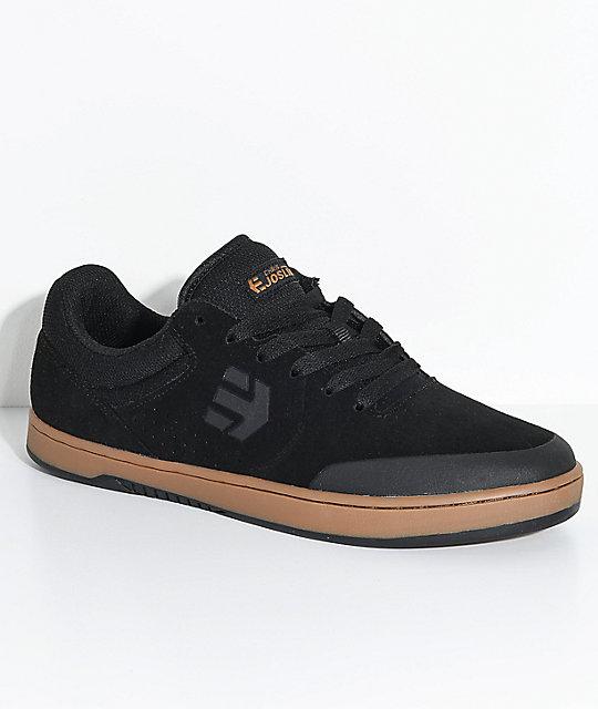 Etnies x Michelin Marana Joslin Black   Gum Skate Shoes  9d7cdbc82