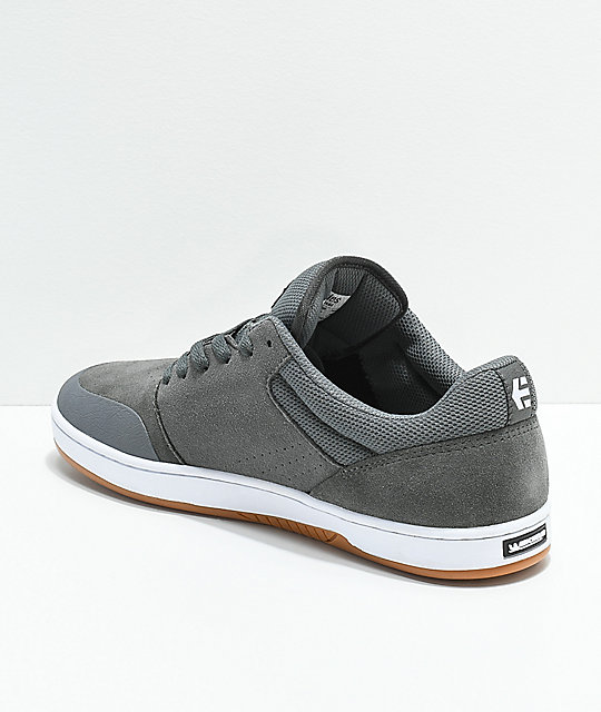 Etnies x Michelin Marana Joslin Grey, White & Gum Skate Shoes