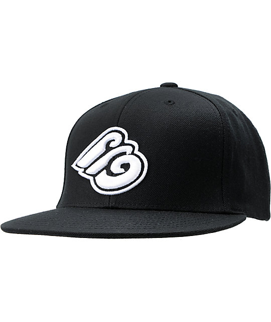 Expedition One Tri E Black Snapback Hat
