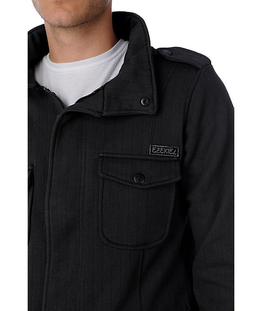 Ezekiel Kendrick Black Fleece Jacket