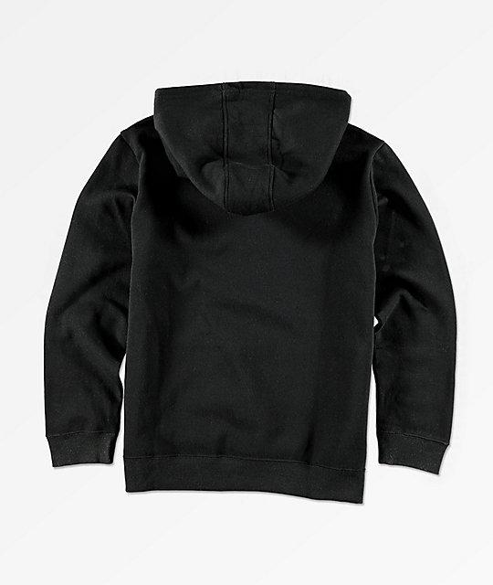 18b70eb78882 FILA Boys Classic Logo Black Hoodie
