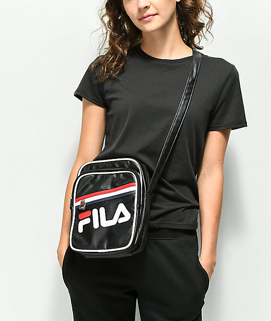 FILA Buster Black Shoulder Bag