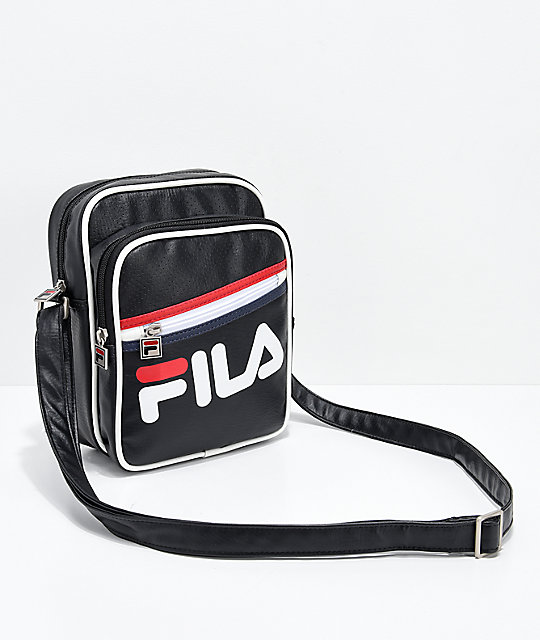 38a617dff5de FILA Buster Black Shoulder Bag