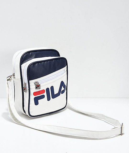 FILA Buster White Shoulder Bag | Zumiez