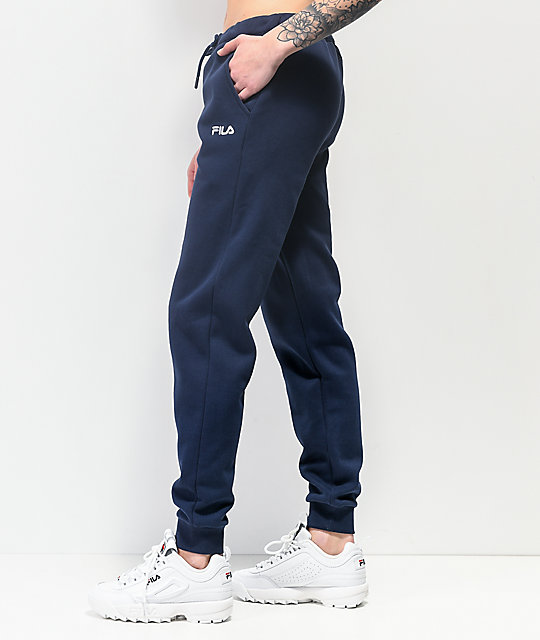 FILA Christy Navy Jogger Sweatpants