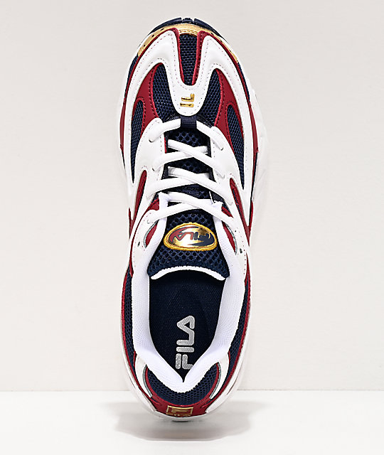 FILA Creator Blue, Gold & White Shoes