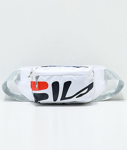 fa095b684bf9 FILA Dawson White Waist Pack | Zumiez