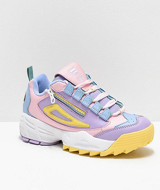 FILA Disruptor 3 Zip Multicolor Shoes