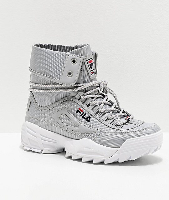 fila boots blanco