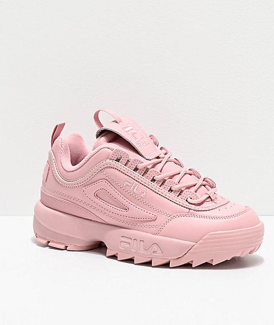 FILA Disruptor II Autumn zapatos rosas