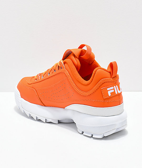 7e6a360d7bfb ... FILA Disruptor II Orange Shoes ...