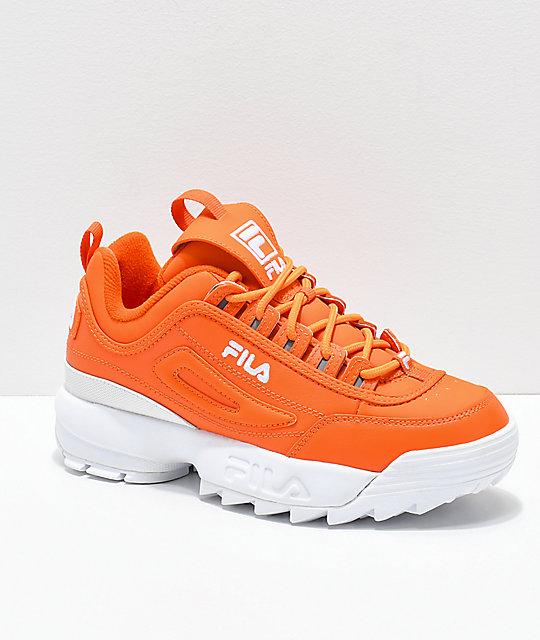 30a530c9 FILA Disruptor II Orange Shoes