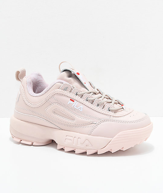 fila disruptor ii pink shoes zumiez. Black Bedroom Furniture Sets. Home Design Ideas