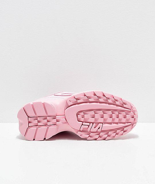 dcdd318b77 FILA Disruptor II Premium Light Pink Shoes   Zumiez