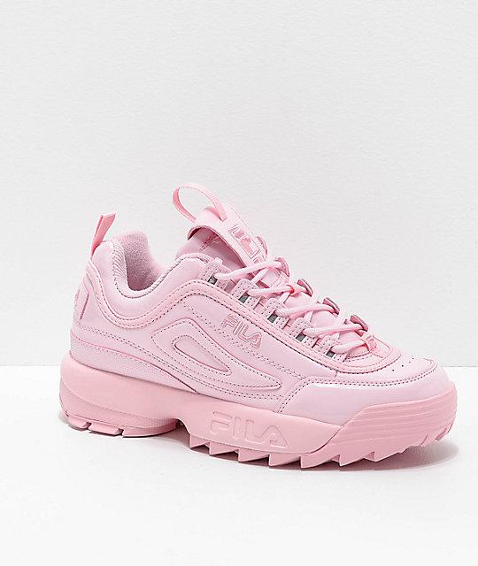 a47ca425024e FILA Disruptor II Premium Light Pink Shoes