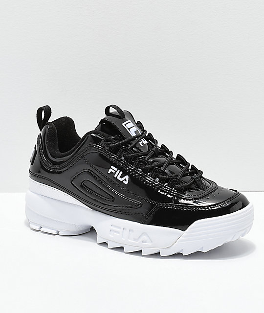 amazing selection fashion new release FILA Disruptor II Premium Patent Leather Shoes