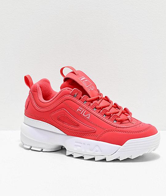 FILA Disruptor II Premium Shift Pink Shoes
