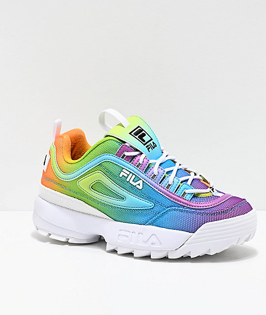 convenience goods fine quality great varieties FILA Disruptor II Tie Dye Shoes
